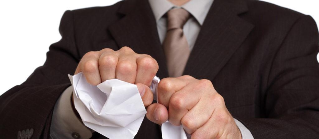 Как расторгнуть соглашение об увольнении?